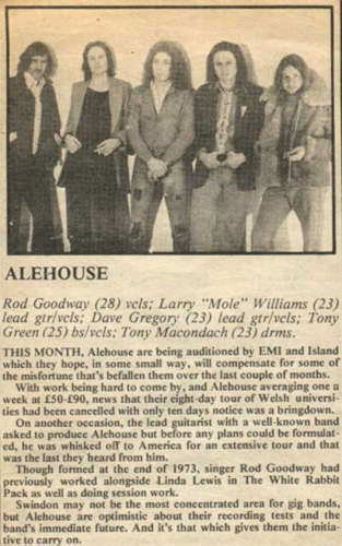 Alehouse - click to return to previous page